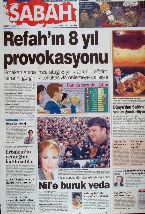 28 Şubatın Unutulmaz Manşetleri 11