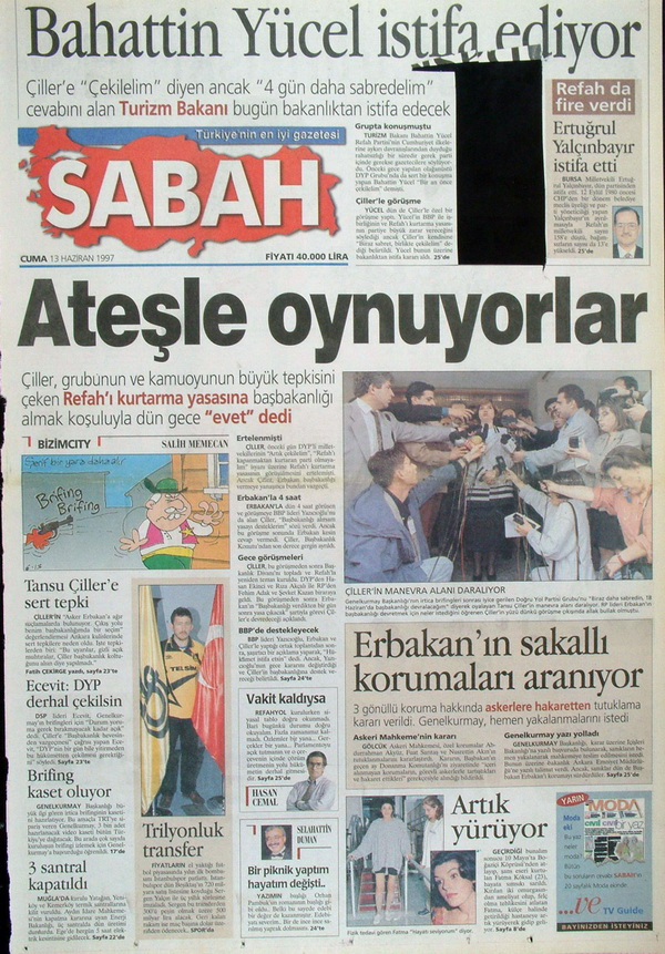 28 Şubatın Unutulmaz Manşetleri 29