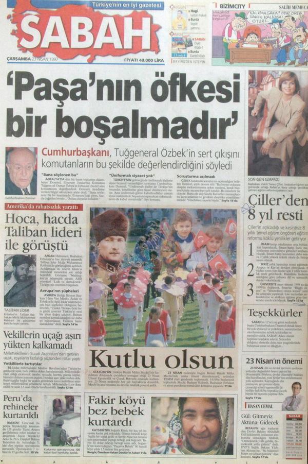 28 Şubatın Unutulmaz Manşetleri 36