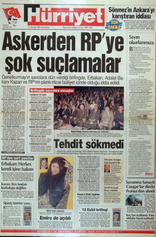 28 Şubatın Unutulmaz Manşetleri 45