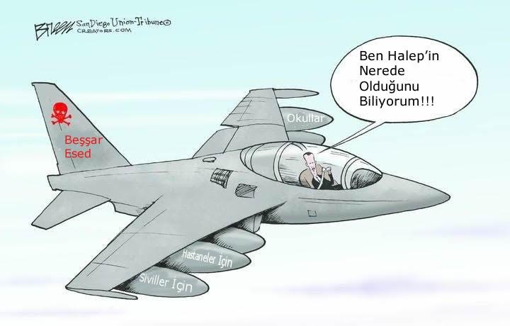Esed Halep'in Nerede Olduğunu Biliyor! 1