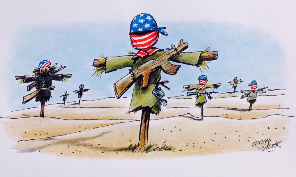 ABD Destekli PYD/PKK Güçleri 1