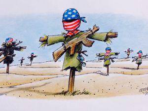 ABD Destekli PYD/PKK Güçleri