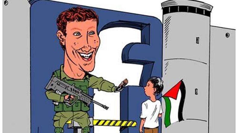 Facebook Filistinli Gazetecileri Engelliyor galerisi resim 1