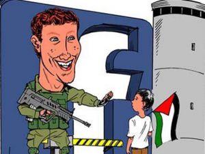 Facebook Filistinli Gazetecileri Engelliyor