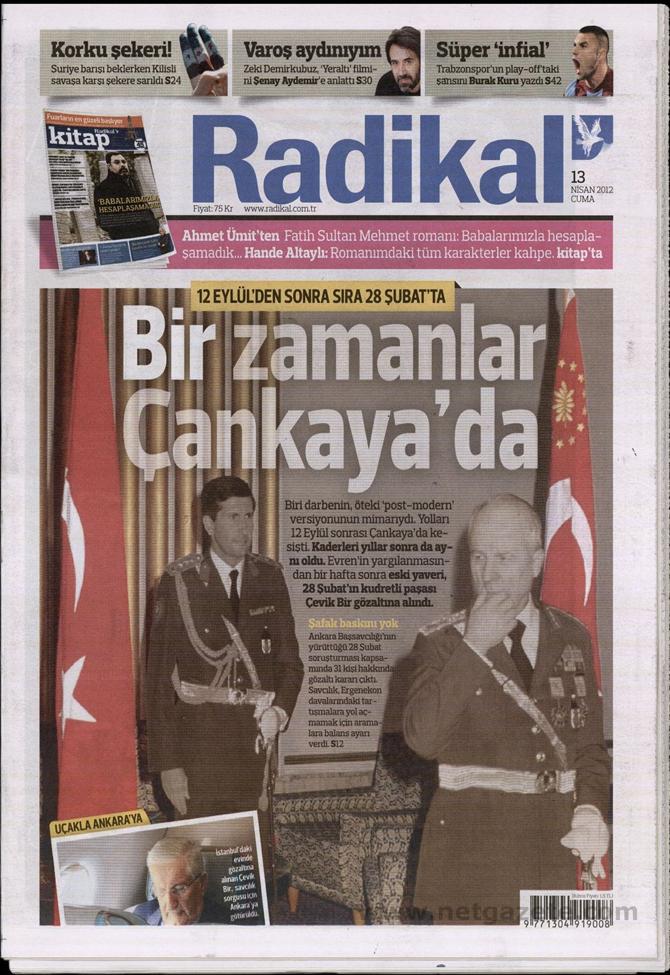 Gazete Manşetlerinde 28 Şubat Operasyonu 11