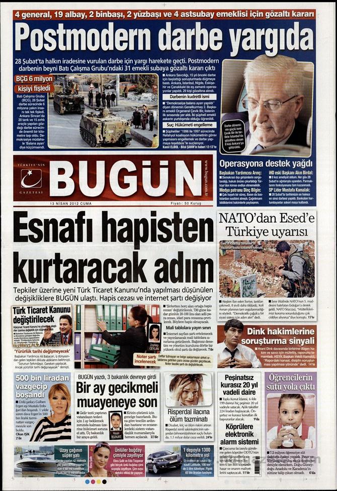 Gazete Manşetlerinde 28 Şubat Operasyonu 3
