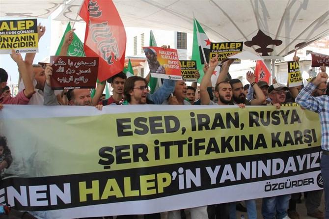 Halep Katliamı İstanbul'da Lanetlendi 1