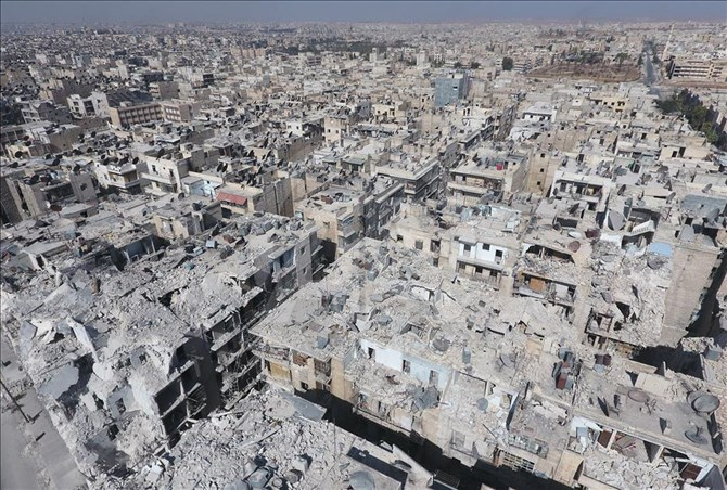Zalimlerin Harabeye Çevirdiği Şehir: Halep 1