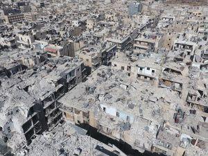 Zalimlerin Harabeye Çevirdiği Şehir: Halep