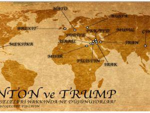 Clinton - Trump ve Ortadoğu'ya Bakışlar