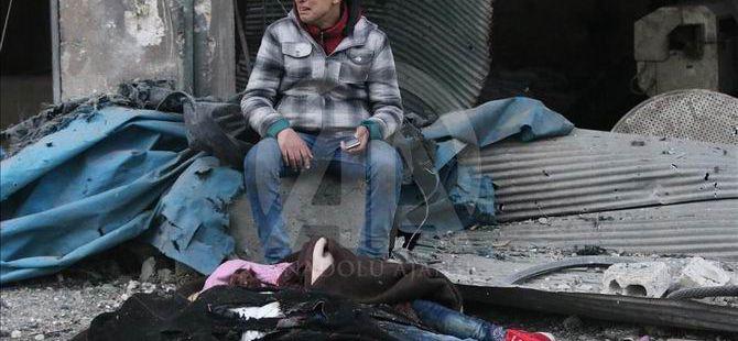 Halep'ten Kaçan Siviller Katlediliyor