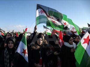 Halep'e Yol Açın Konvoyu Yola Çıktı