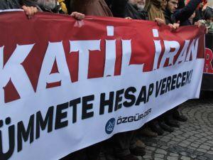 Katil İran Suriye'den Defol!