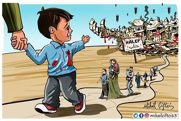 Halep'e Veda Ederken 1