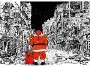 Batı'nın Noel Babası Halep'te