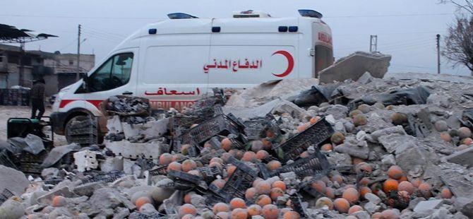 Esed Güçleri İdlib'e Saldırdı: 10 Sivil Hayatını Kaybetti!