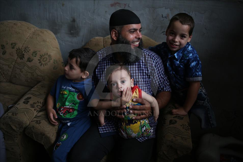 Gazze'de Engelli 3 Kardeşin Protez Hayali 1