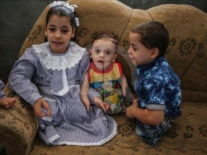 Gazze'de Engelli 3 Kardeşin Protez Hayali