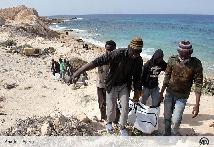 Onlarca Göçmenin Cansız Bedeni Libya Kıyılarına Vurdu! 1