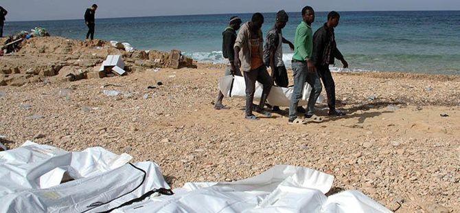 Onlarca Göçmenin Cansız Bedeni Libya Kıyılarına Vurdu!