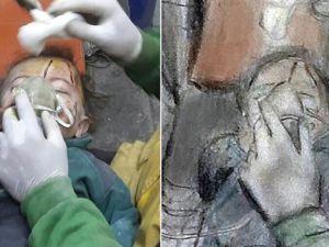 Suriye'deki Acıyı Resmetti
