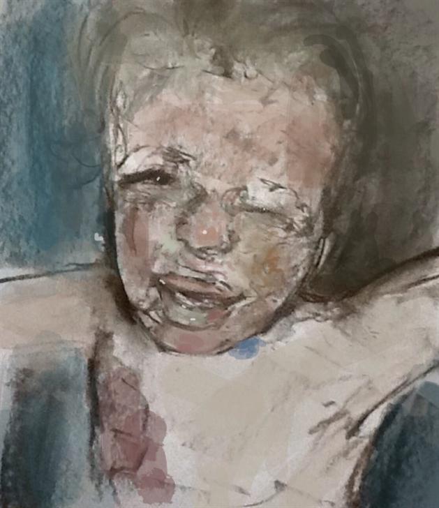 En Zor Çizim: Suriyeli Çocukların Çektiği Acıyı Resmetti 1