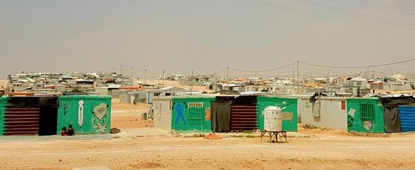 Ürdün'deki Zaatari Kampından Görüntüler 1