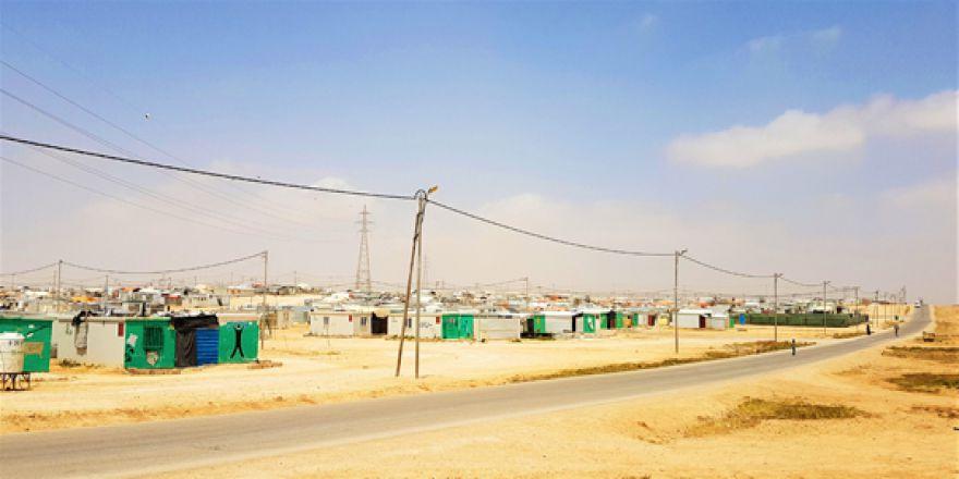 Ürdün'deki Zaatari Kampından Görüntüler