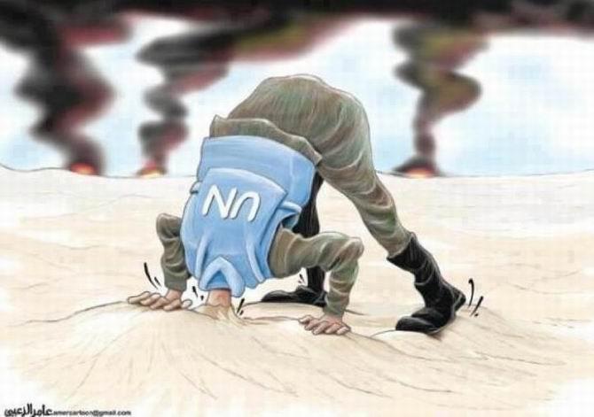BM Gözlemcileri Suriyede 1