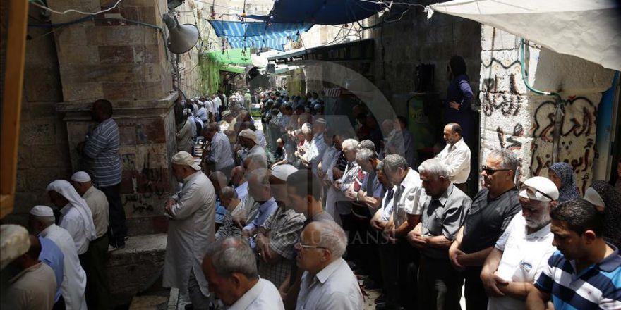 Kudüs Muhafızlarından Mescid-i Aksa Nöbeti