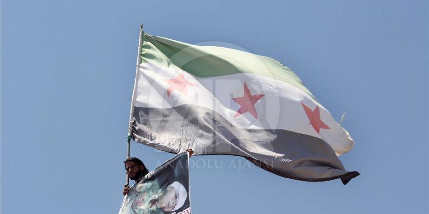 Suriye'de PKK/PYD Karşıtı Gösteriler