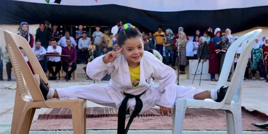Suriyeli Küçük Kızın Hayali Şampiyon Olmak