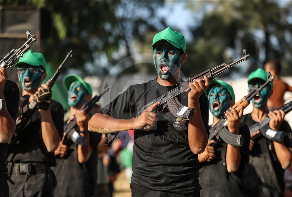 Gazze'de Mezuniyet Töreni 1