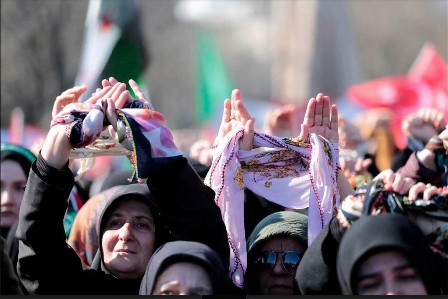 'Suriyeli Kız Kardeşlerimizi Serbest Bırakın!' 1