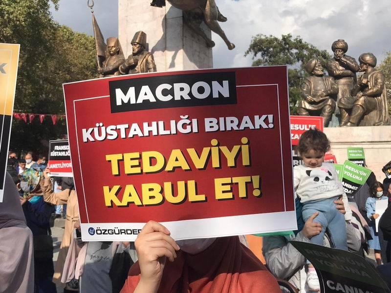 Fransa'nın küstahlığı İstanbul'da lanetlendi 1
