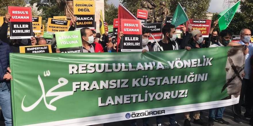 Fransa'nın küstahlığı İstanbul'da lanetlendi