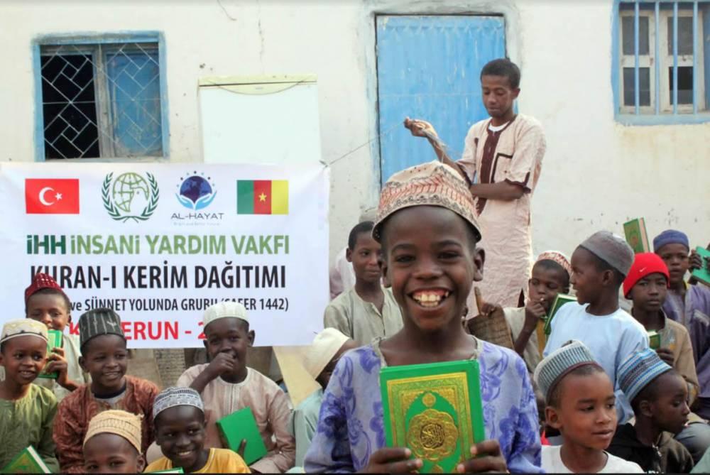 İHH'dan 2020'de 7 ülkeye 25 bin Kur'an-ı Kerim 1