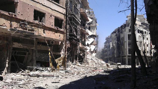 Harabeye Dönen Ülke Suriye 1