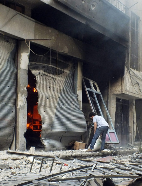 Harabeye Dönen Ülke Suriye 10