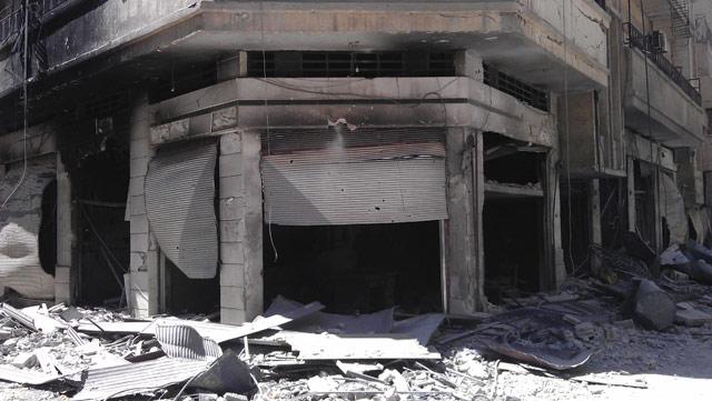 Harabeye Dönen Ülke Suriye 13
