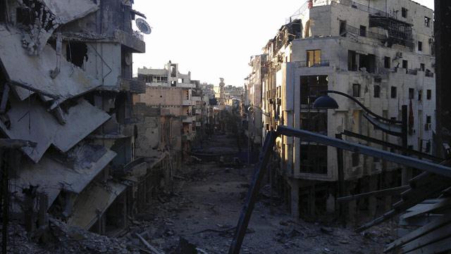 Harabeye Dönen Ülke Suriye 2