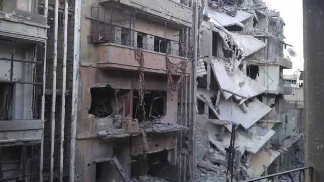 Harabeye Dönen Ülke Suriye 3