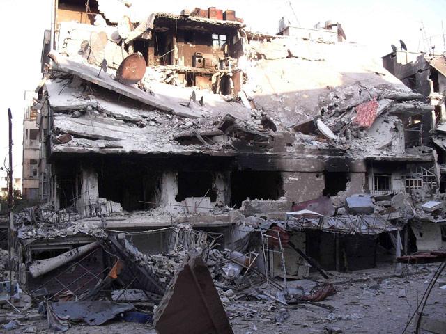 Harabeye Dönen Ülke Suriye 7