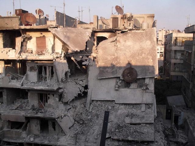 Harabeye Dönen Ülke Suriye 8