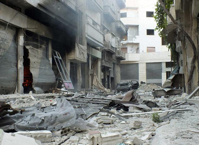Harabeye Dönen Ülke Suriye 9