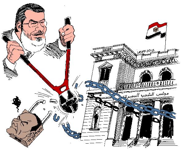 Mursi, Askerî Konseye Karşı 1