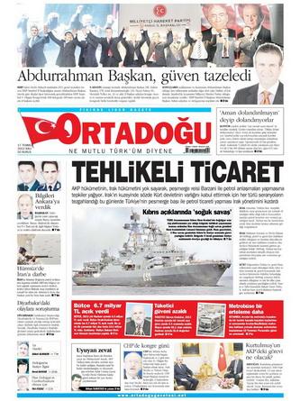 Gazete Manşetleri - 17 Temmuz 2012 10