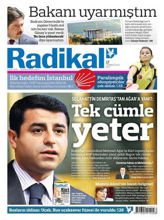 Gazete Manşetleri - 17 Temmuz 2012 11