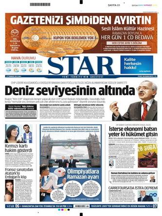 Gazete Manşetleri - 17 Temmuz 2012 14